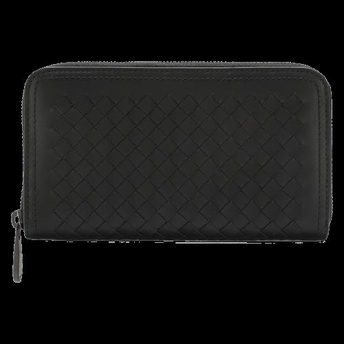 BOTTEGA VENETA Leather purse zipper