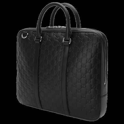 GUCCI Leather laptop bag