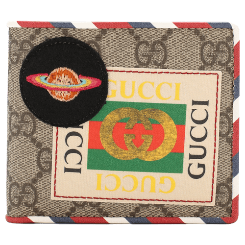 GUCCI Leather purse Courrier